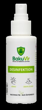 Bakuvir_Desinfektion